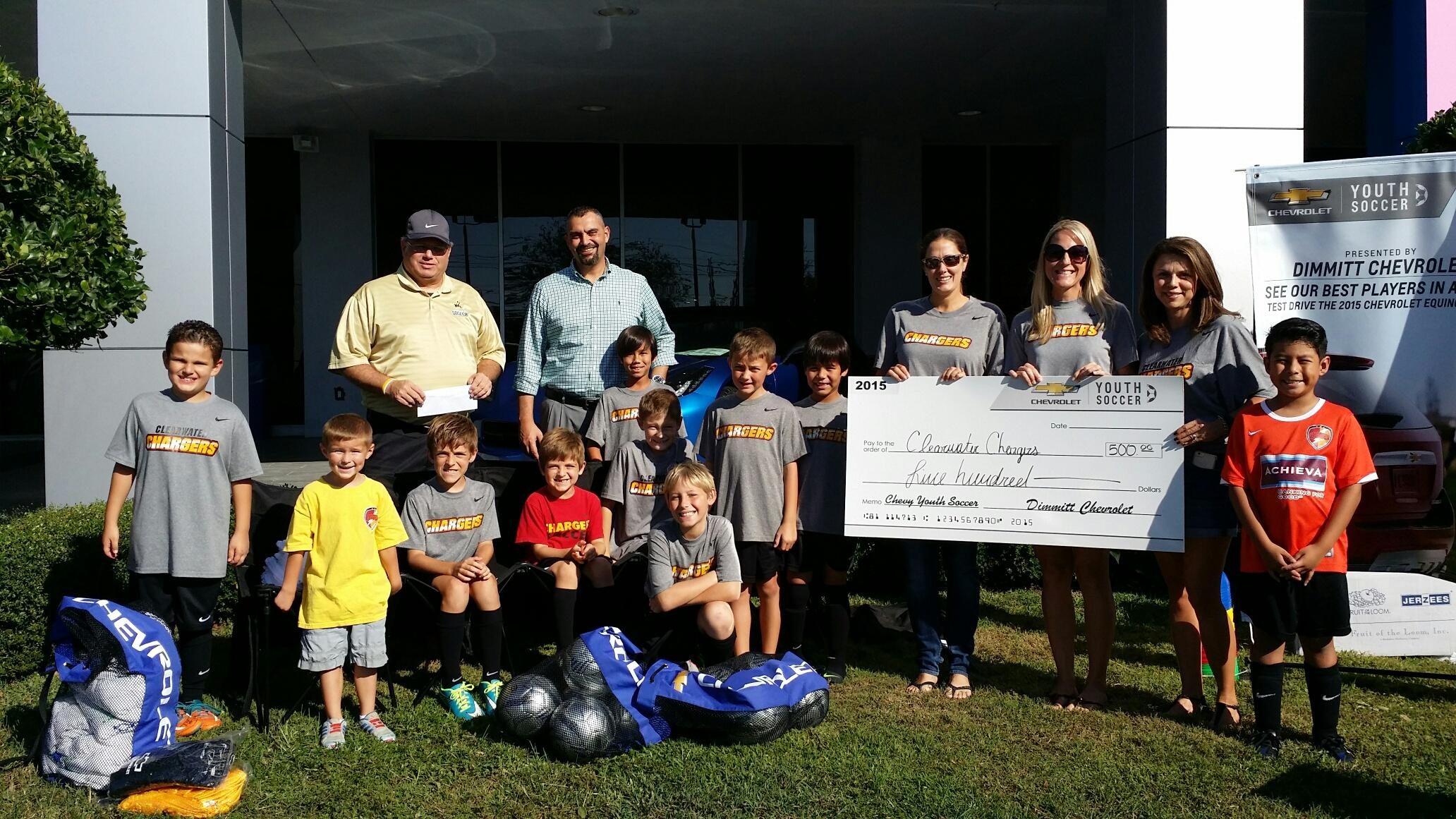 Dimmitt Chevrolet Clearwater >> Dimmitt Chevrolet Teams Up With Clearwater Chargers For Big